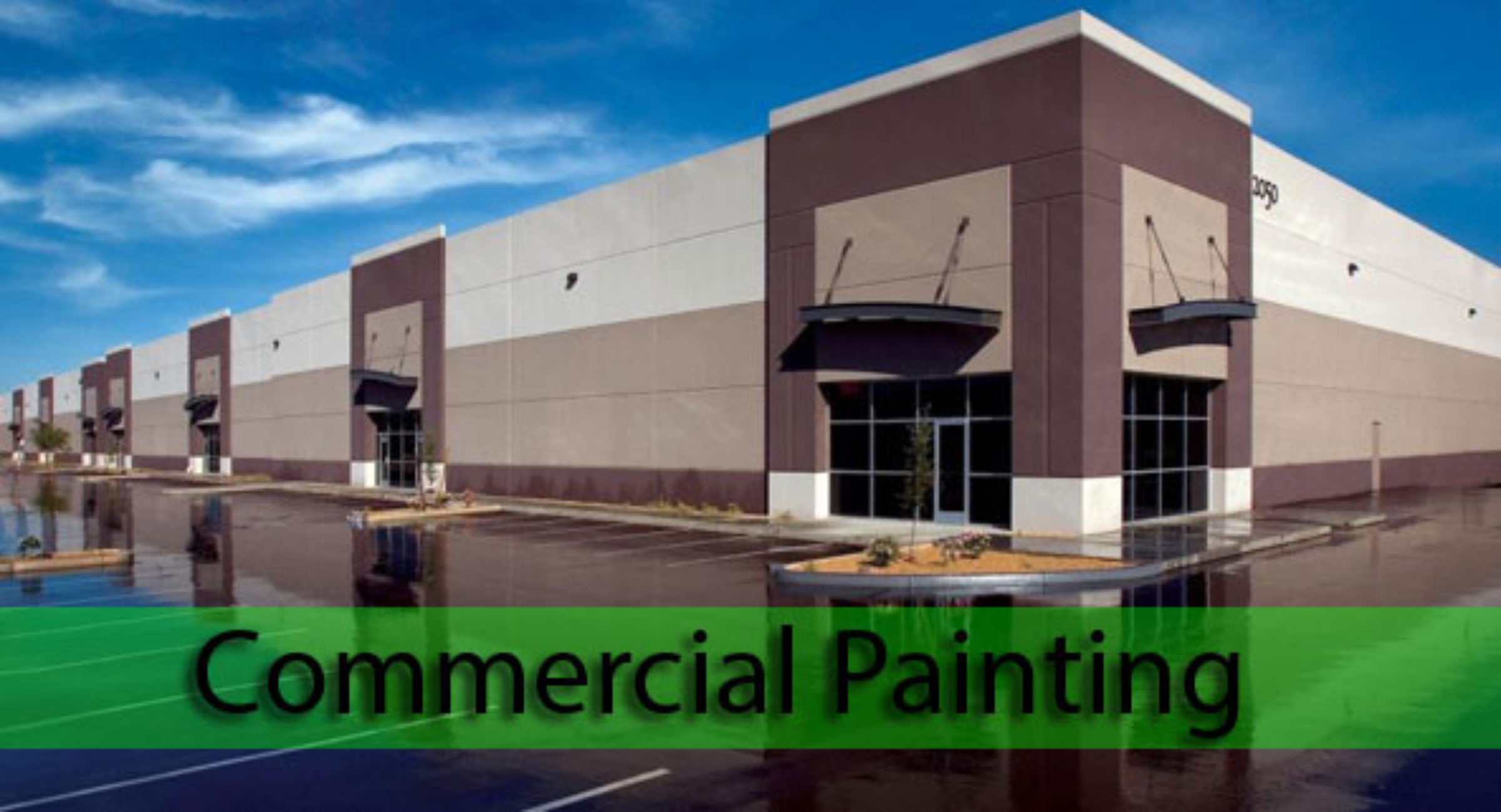 Connecticut Commercial Exterior Painting